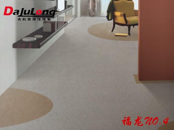 大巨龙福龙NO.4灰岩系列商用pvc卷材地板