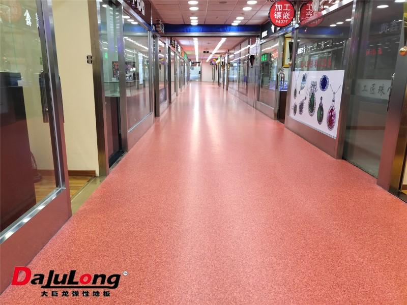 无方向同质透心地板商业场所案例