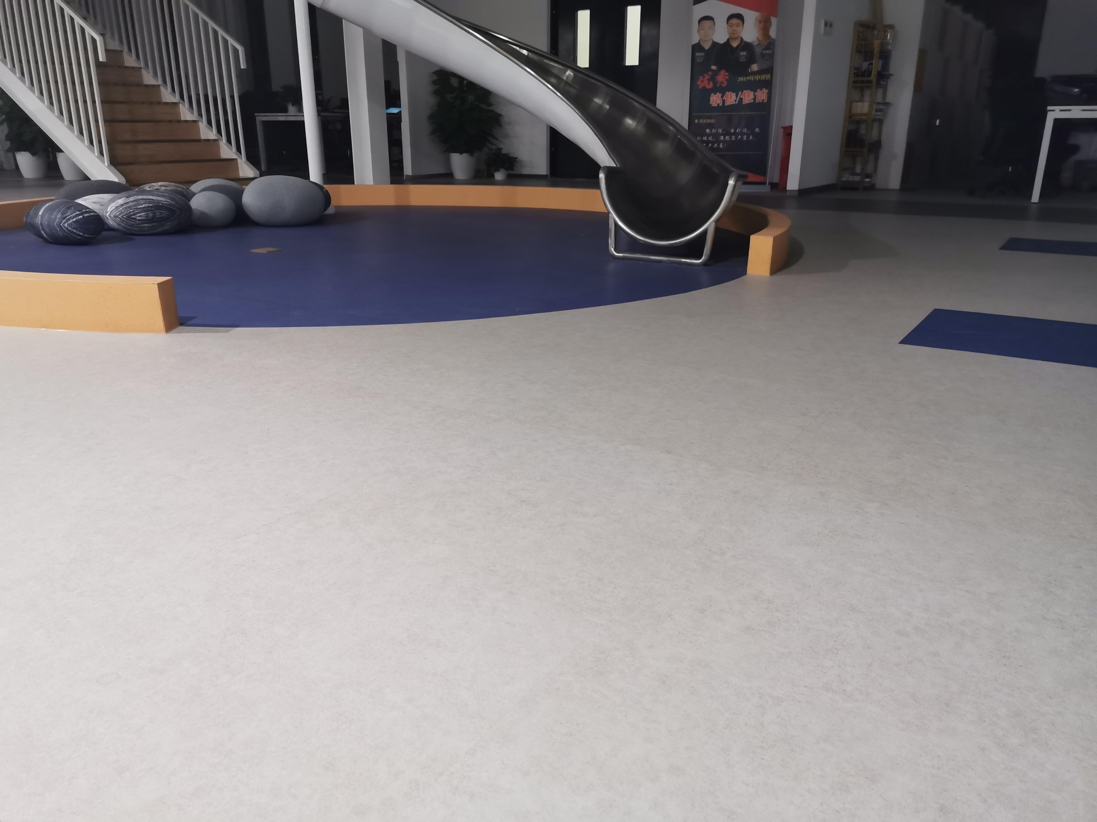 大巨龙纯色卷材办公室案例